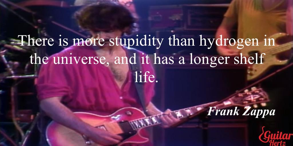 @Zappa #Quote #MusicWednesday  #Guitar #WednesdayWisdom. Like this? Share 🎸pls, share https://t.co/Pp8TRHTFSn