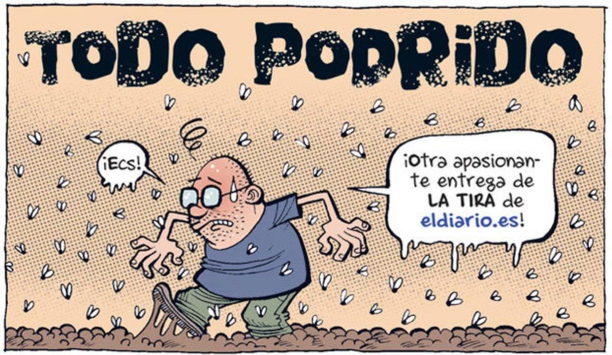 RT @gsemprunmdg: Todo podrido I    x    Bernardo Vergara  @laSextaTV 🤮🤮🤮 #FelizDomingo #Portada #Portadas #EnPortada https://t.co/Wywcf2PDI9