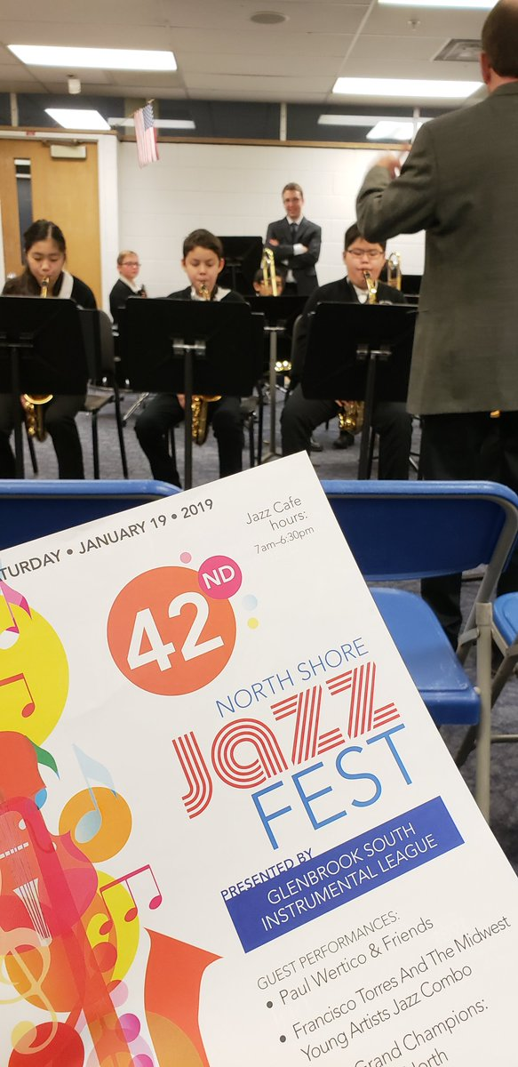 test Twitter Media - Director Mike Vecchio and the Maple Jazz Band earned Division One Superior Ratings@ North Shore Jazz Fest this morning. Thank you to EJ Choi for sending photos! Bravo! We are proud! #d30learns #transcendinginclementweather https://t.co/JBWh8jbSZP