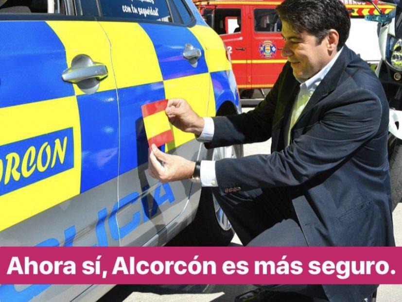 """RT @AlcorconMemes: """"Ahora sí, #Alcorcón es más seguro"""" https://t.co/4Dn5y30MI6"""