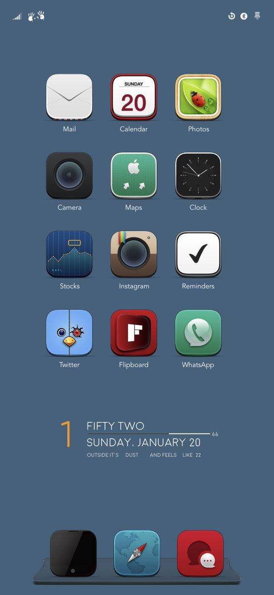 RT @iOS_Theme: #eliteX @barsoverbeats @RobGrohman  #widget LoomyLikes https://t.co/ivQV63w5ZV