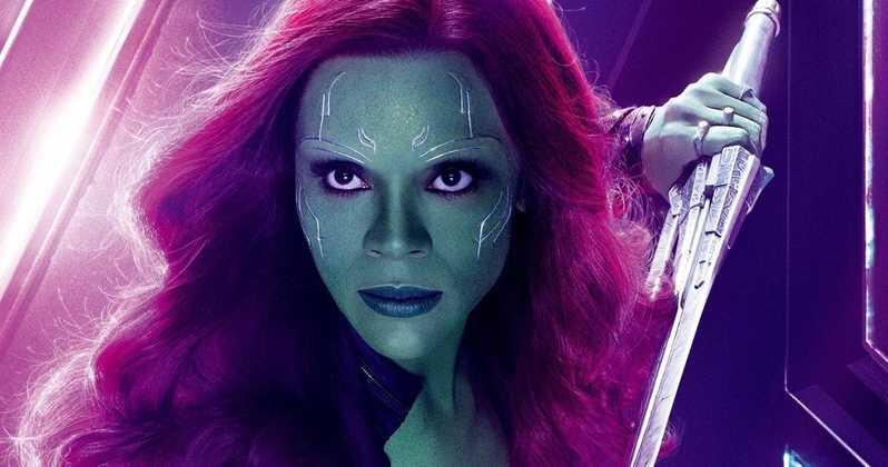 Zoe Saldana Shares Video of Gamora BTS For Avengers: EndGame https://t.co/B3BxFGrQ59 #Gamora #AvengersEndGame https://t.co/7tfYVJcPqT