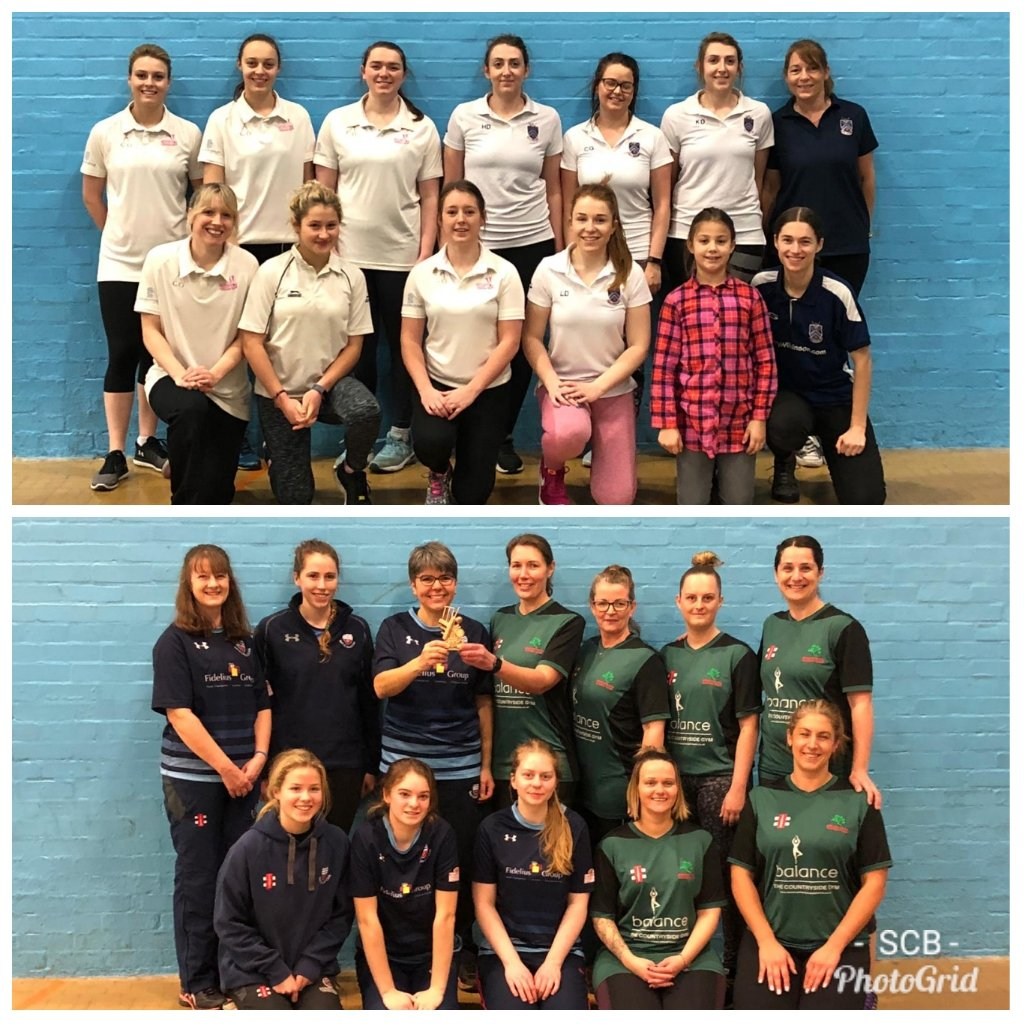 test Twitter Media - The final of the BANES women's indoor League between @bathcricket & @MidNortonCC  The game finished with a TIE!  256-6!  In the 3rd & 4th play off @BeckingtonCC overcame @fromecricket A HUGE 🙏👍 to the superb volunteers @fromecricket who umpired/scored throughout the league 🙏 https://t.co/mb0oTPBWNj