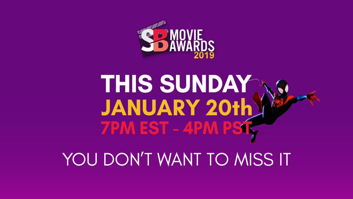 The votes have been tallied and the @SuperBroMovies Movie Awards results will be revealed tonight 4pm PST/7pm EST https://t.co/gxIUuM9mAi