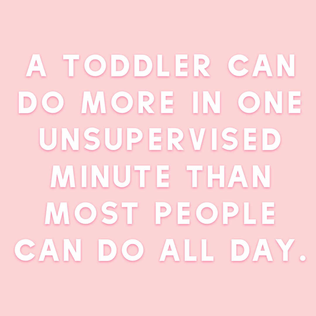 Imagine if we could all accomplish as much as unsupervised toddlers can… ???? #momlife #momhumor https://t.co/Gil5ZqfOGu