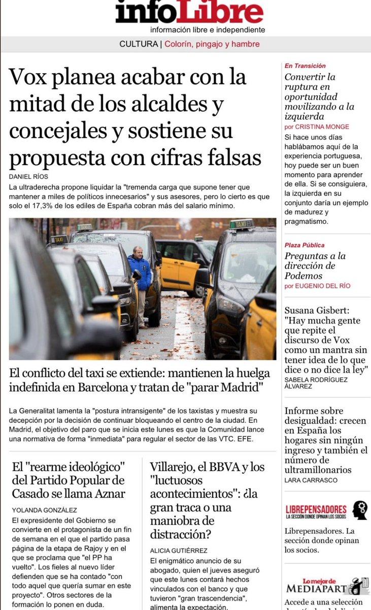 INFOLIBRE 21E :   #OpenArms secuestrado  #FelizLunes #Portada #Portadas #EnPortada https://t.co/9l8JZFjrZ5