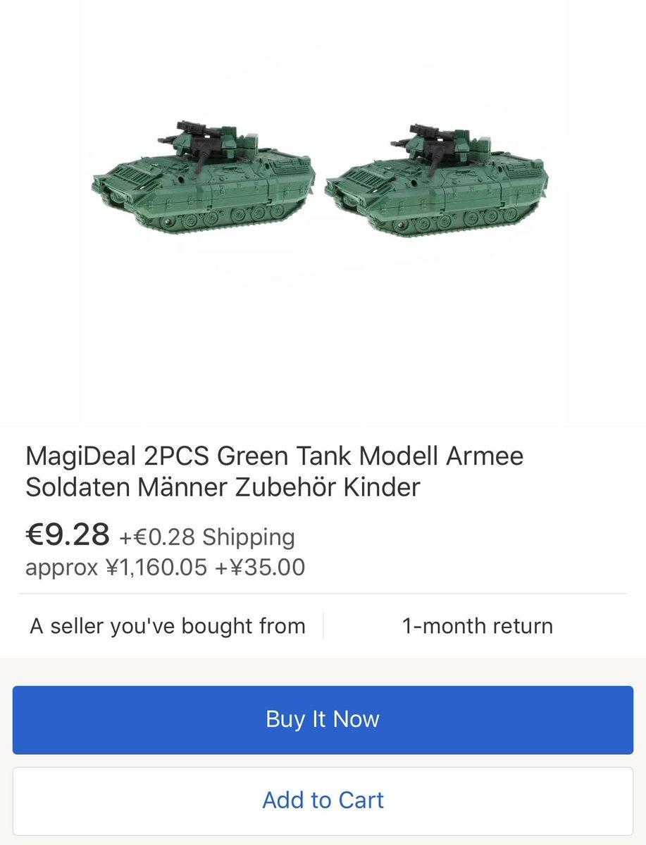 MagiDeal 2PCS Green Tank Modell Armee Soldaten Männer Zubehör Kinder