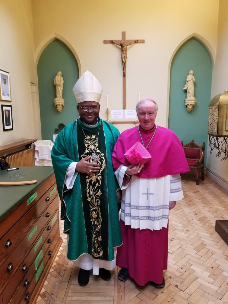 test Twitter Media - Bishop Michael said Mass in Cathedral yesterday and is now en route via Germany back to Rome. Situation in Bamenda is at times normal but at other times tense. I'm putting a proposal in this week's Enews about how we can help from here. Biggest help is daily prayer for Cameroon. https://t.co/n4oSaZqV0o