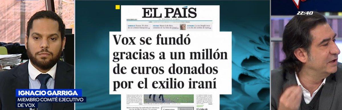 🔴@Igarrigavaz niega que @vox_es haya tenido ningún tipo de financiación ilegal ▶https://t.co/897gn9dxri https://t.co/StU7Q2ZYba