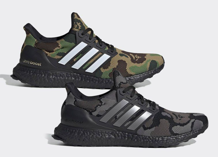 "RT @thisis50: Bape x adidas Ultra Boost ""Camo Pack"" Official Images https://t.co/a7bNxjHLMp https://t.co/hFercH1lqR"