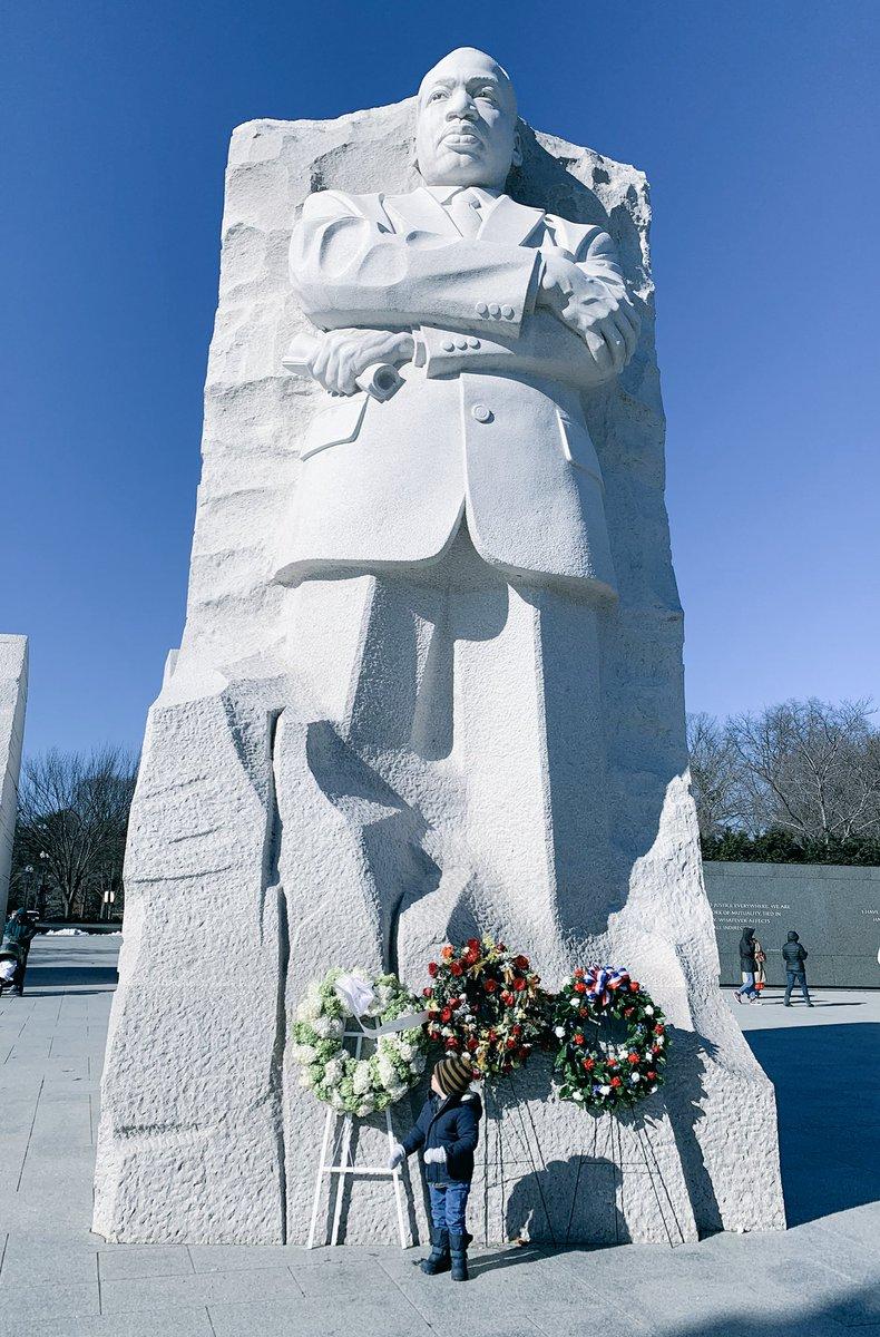 Remembering Dr. King #MLKday https://t.co/en0K5RxrE1