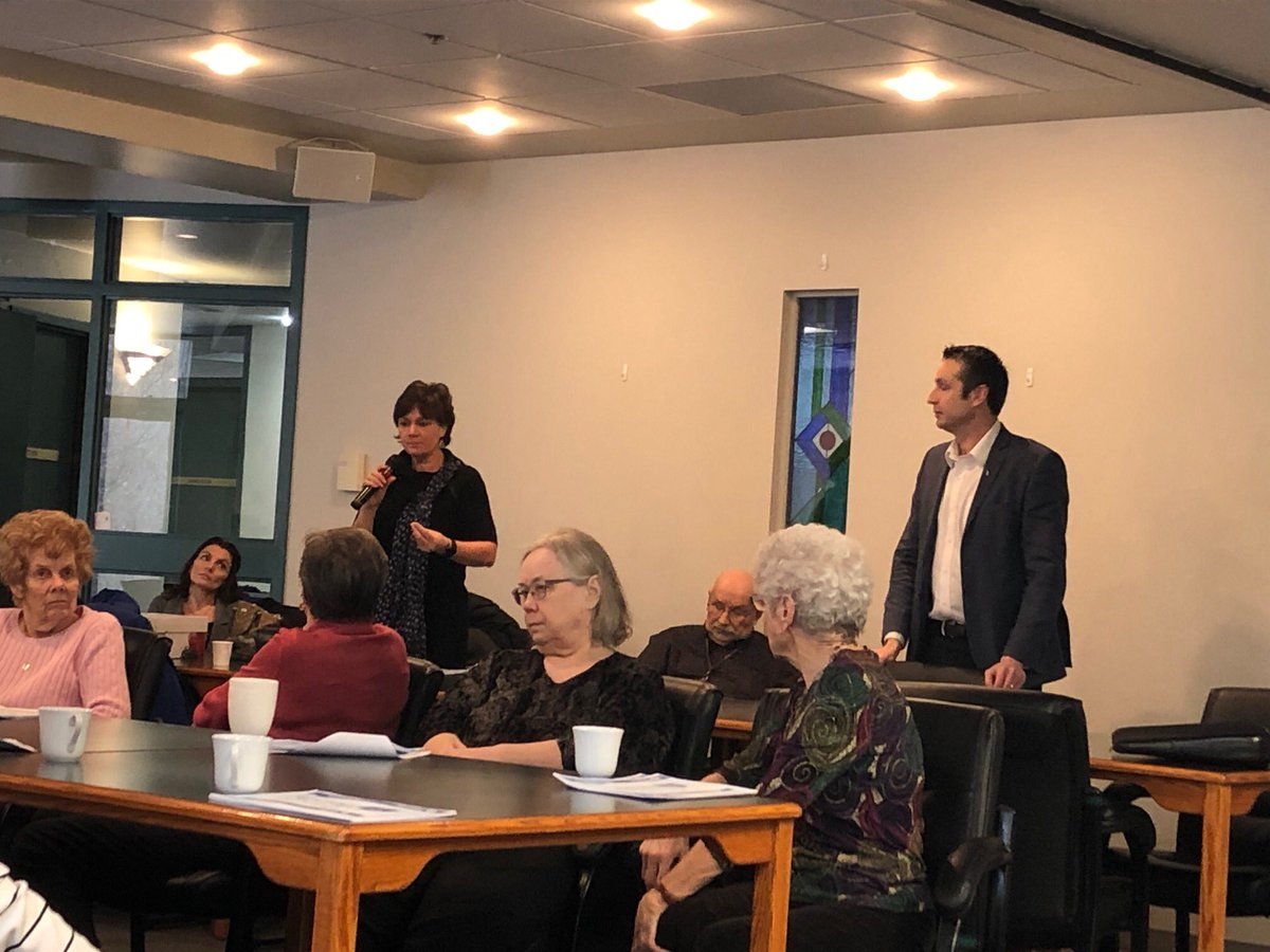 test Twitter Media - Today I hosted a pre-budget consultation at Victor Wyatt House. Thank you @JaniceMLPCSeine for joining me today. I appreciate the feedback and excellent questions from the residents this morning.  #mbpoli #seniors #prebudget #prebudget2019 #consultation #budgetconsultation https://t.co/2QY1K8kgjf
