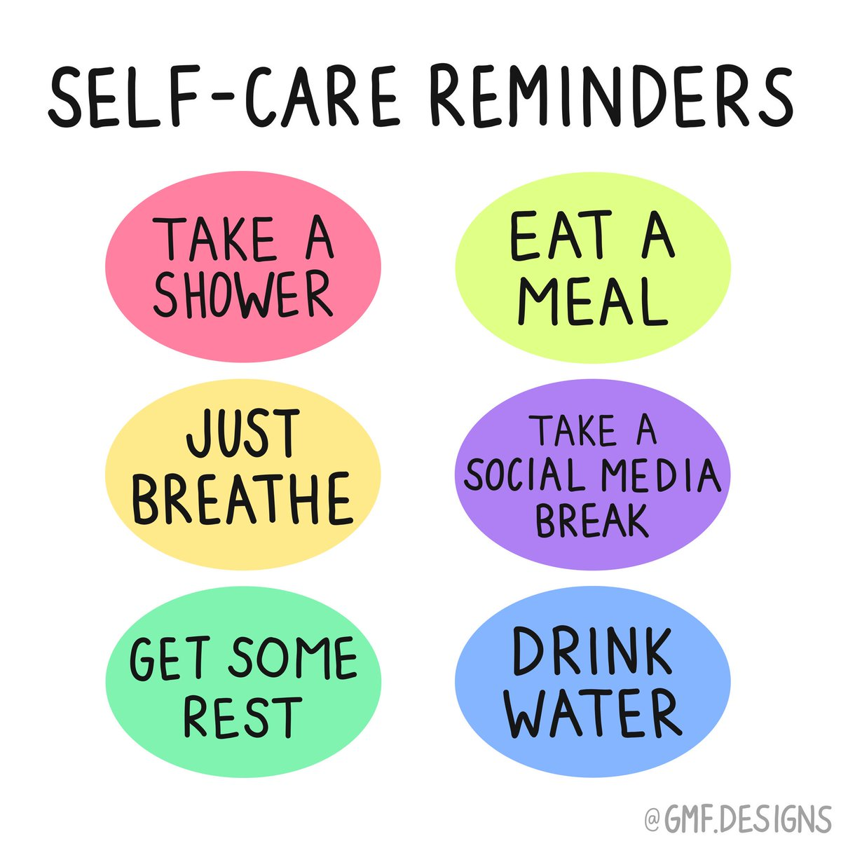 RT @ProjectBuddy: Self-care may seem simple, but sometimes we all need a reminder. https://t.co/h4qP3kAvO9
