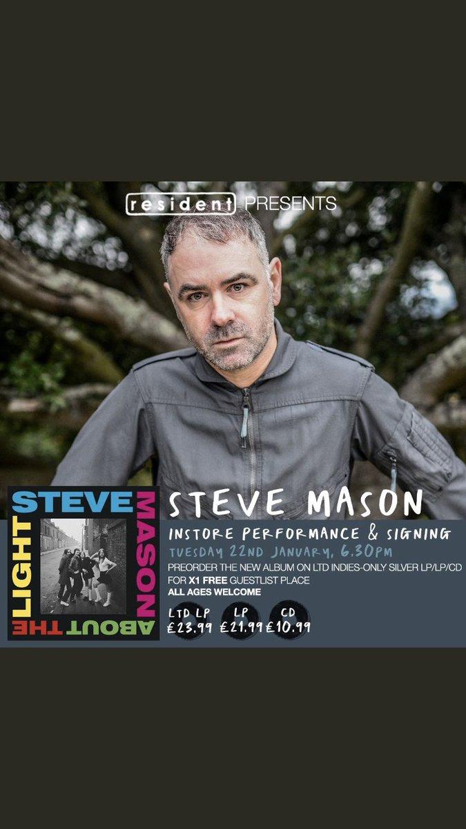 RT @SteveMasonKBT: In store performance today at Resident Records in Brighton. 6-30pm. @LittleBarrie and me. X https://t.co/PbBSUNwwbi