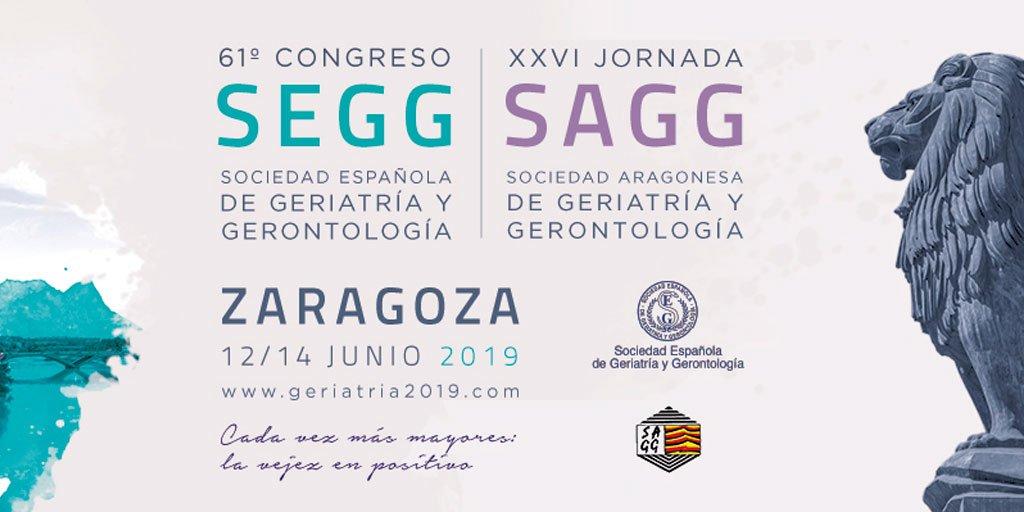 test Twitter Media - El 61º Congreso de la Sociedad Española de Geriatría y Gerontología se celebrará del 12 al 14 de junio de 2019 en Zaragoza. #AESTEinforma sobre inscripciones 👉 https://t.co/mZxlR4EC10 #PersonasMayores @seggeriatria https://t.co/glrTCrydGY