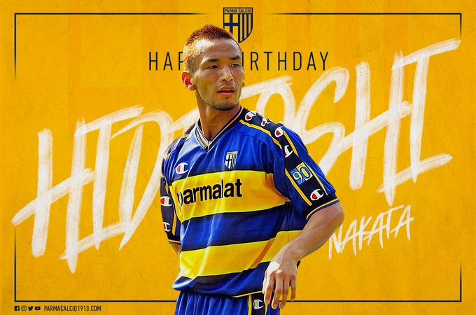 A very happy birthday to Hidetoshi who is 42 today!