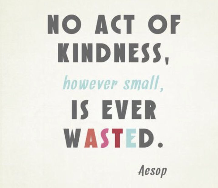 Be kind and stay warm on this brisk Tuesday morning! #kindness #safeschools #bullyingprevention https://t.co/ZnyW1DXvjW