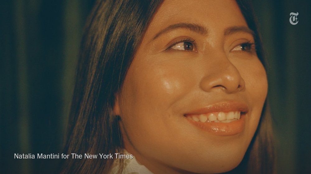 RT @nytimesarts: Yalitza Aparicio Is the Oscars' First Indigenous Mexican Actress Nominee https://t.co/wHrWRP2sns https://t.co/G0jREgiIsM