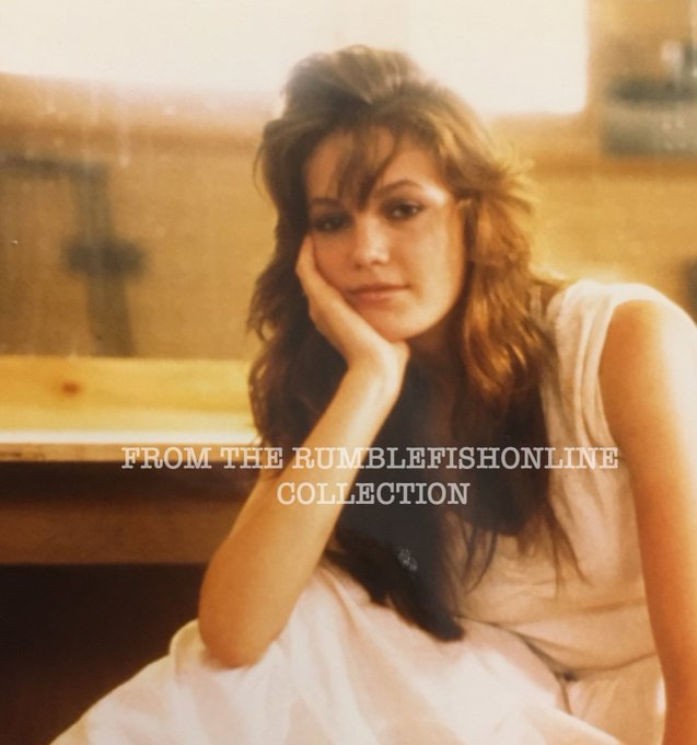 Happy Birthday to the beautiful Diane Lane, seen here on set of