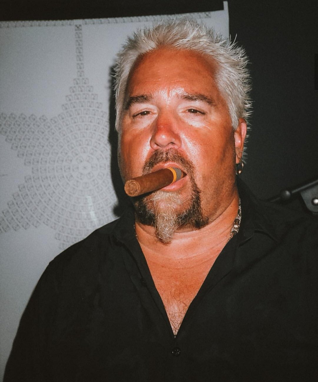 Oh shit bruh happy birthday to the homie guy fieri who be smokin all the burgers