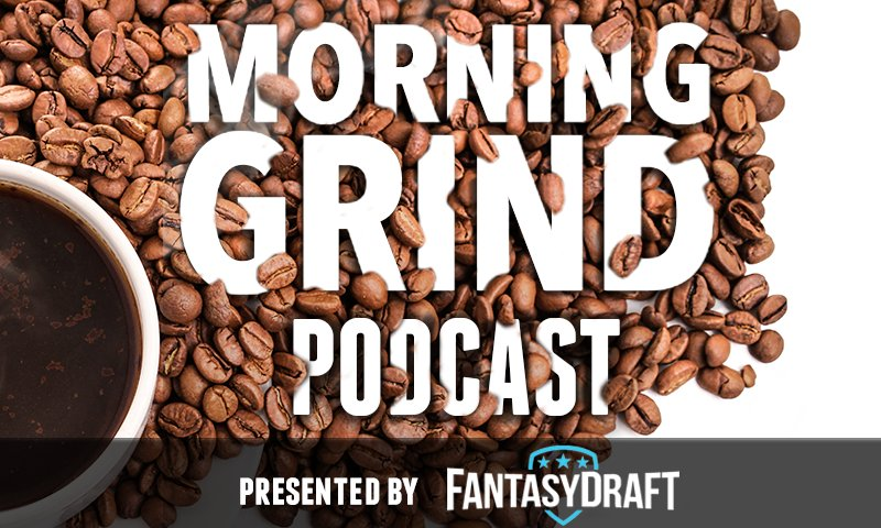 test Twitter Media - Good morning Grinders! Tune into the Daily Fantasy Basketball Morning Grind with @gneiffer07 and @chiefjustice06 as they break down today's NBA slate.  Also, please rate and review the pod on iTunes! #FantasyBasketball #DFS   Listen to them here: https://t.co/K5h9cW1z5f https://t.co/QG3euD3PdA