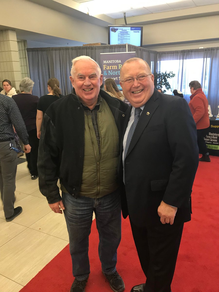 test Twitter Media - Great to catch to the former Minister of Agriculture Glen Findlay #agdays19 https://t.co/BYPKmYGVFi