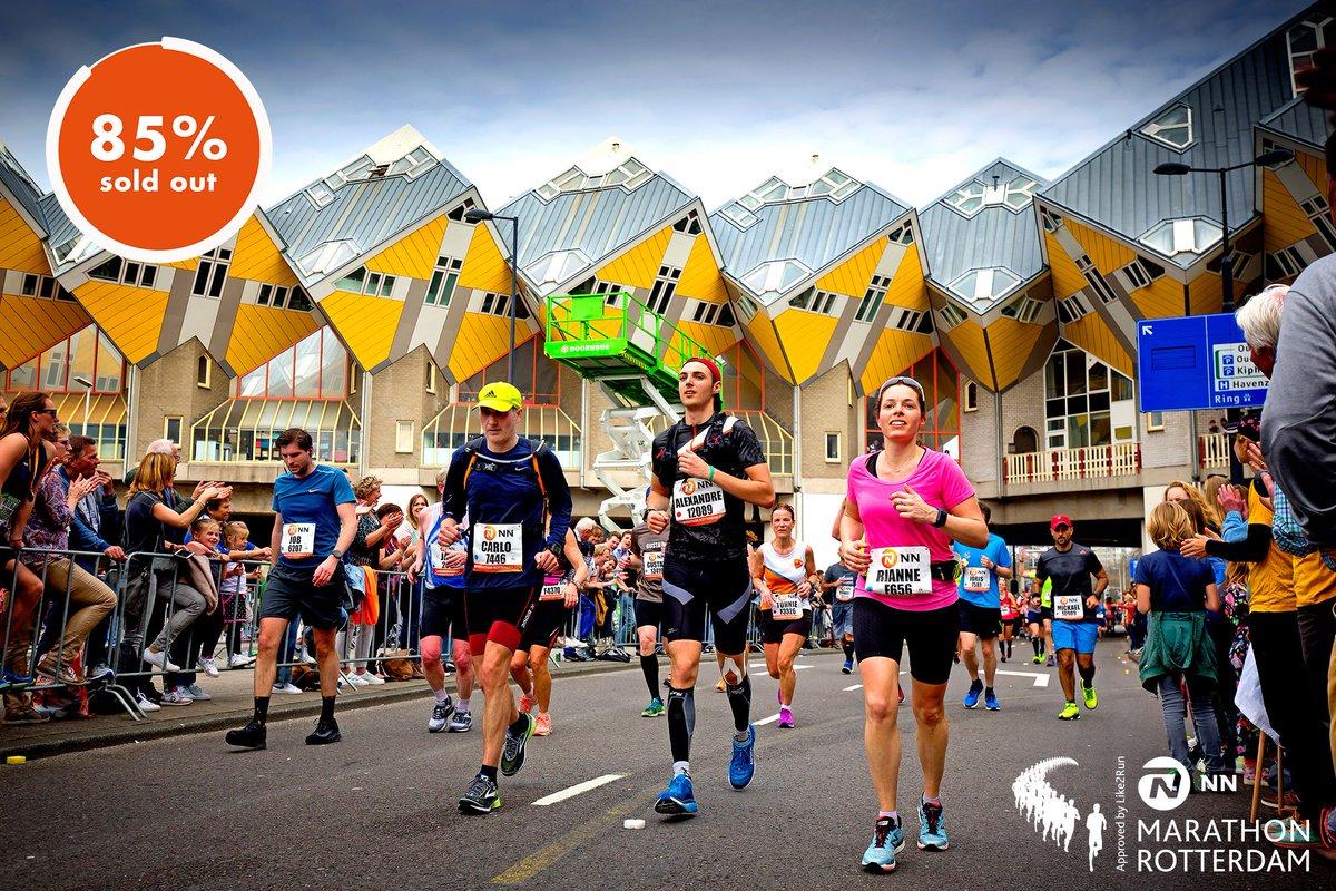 test Twitter Media - 🇳🇱 Bijna uitverkocht... 85% van de startnummers voor de marathon zijn nu verkocht. Mis #demooiste niet!  🇬🇧 It's the final countdown... 85% of the bib numbers for the marathon have been sold out. What are you waiting for?  •⠀ •⠀ •⠀ #mr19 #rotterdam #marathon #running https://t.co/FmdLsQ3kYI