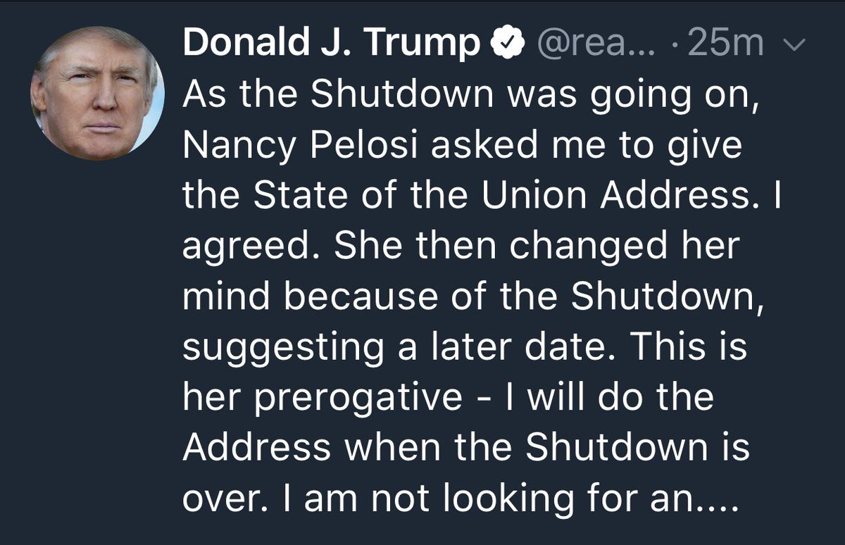test Twitter Media - #Breaking PresTrump to give State of the Union #SOTU address when #Shutdown is over https://t.co/82CS85tDLl
