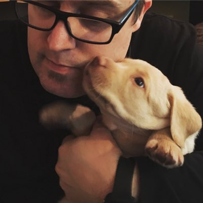 test Twitter Media - My new puppy, Winston. #NewProfilePic https://t.co/RA9jgPdIMw