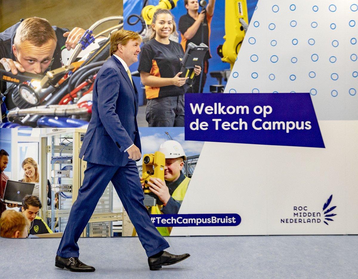 test Twitter Media - De Tech Campus in Nieuwegein bestaat uit vier kleinschalige, branchegerichte mbo-opleidingen: het Tech College, Bouw & Interieur College, Automotive College en het ICT College. De Koning opent vandaag de Tech Campus van @ROC_MN https://t.co/hA0BQNeQD0 #opleiding #mbo #studie https://t.co/DqLwPmOVwO