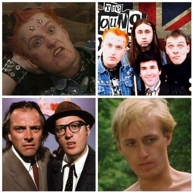 Ade Edmondson is 62 today, Happy Birthday you complete Bastard