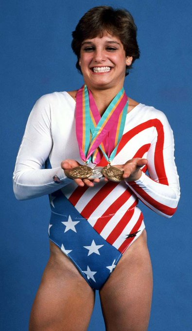 Happy Birthday to Gymnast, Gold Medalist, Mary Lou Retton!  \84 Summer Olympics and LA.