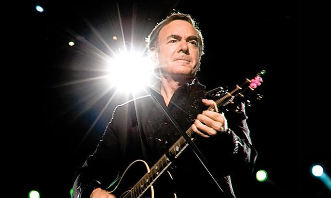 Happy birthday to Neil Diamond... True legend!