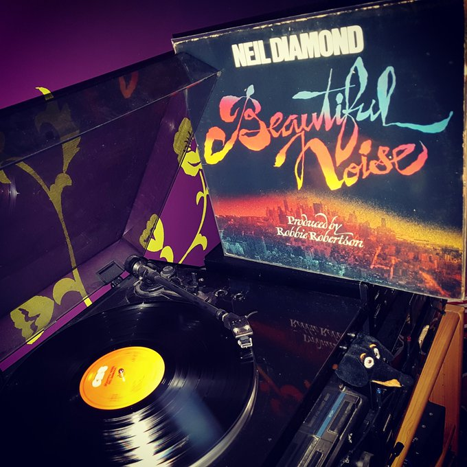 Happy Birthday Neil Diamond *78* ! Beautiful Noise (produced by Robbie Robertson) (CBS/1976)