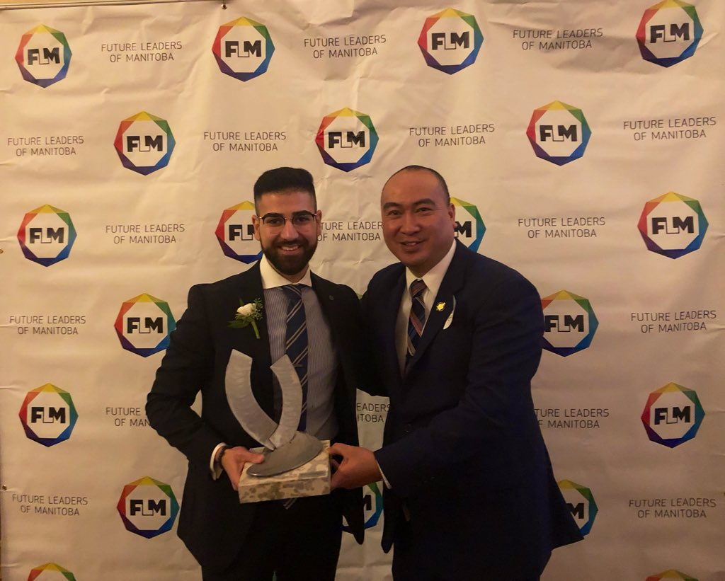 test Twitter Media - A big congratulations tonight to @M_Almaleki the winner of the Future Leaders of Manitoba age 20-25 category. Happy to support my good friend who like most of us came from very humble beginnings. Very proud of you. Keep inspiring. #FLM2019 https://t.co/feQUKsoFQD