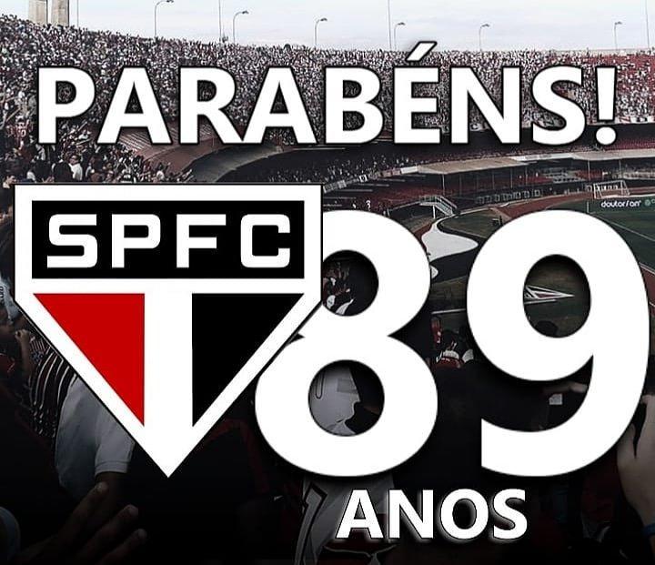 Parabéns @SaoPauloFC o maior clube do Brasil. #SPFC89anos ???????? ????⚫️⚪️ ???? https://t.co/vuIdhYKpcG