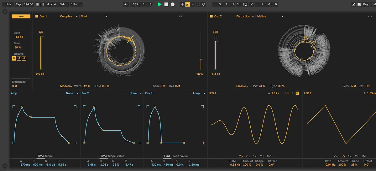 Create evolving pads with Wavetable oscillator modulation – @noahpred shows...
