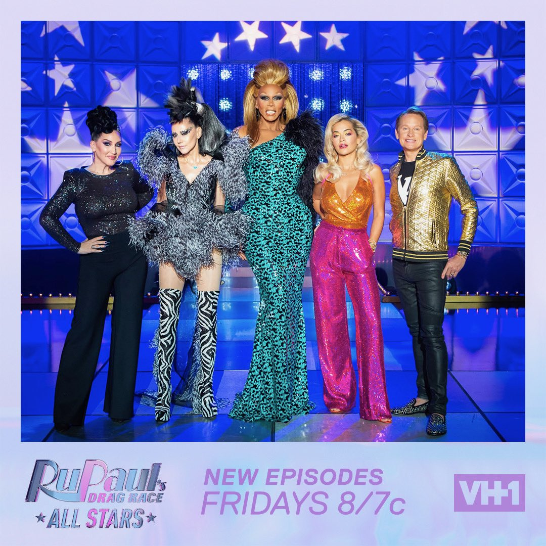 RT @WarnerBrosPromo: Catch @RitaOra tonight on @rupaulsdragrace #AllStars4!! 8/7c on @VH1 ❤???????????? https://t.co/qg1711bOZv
