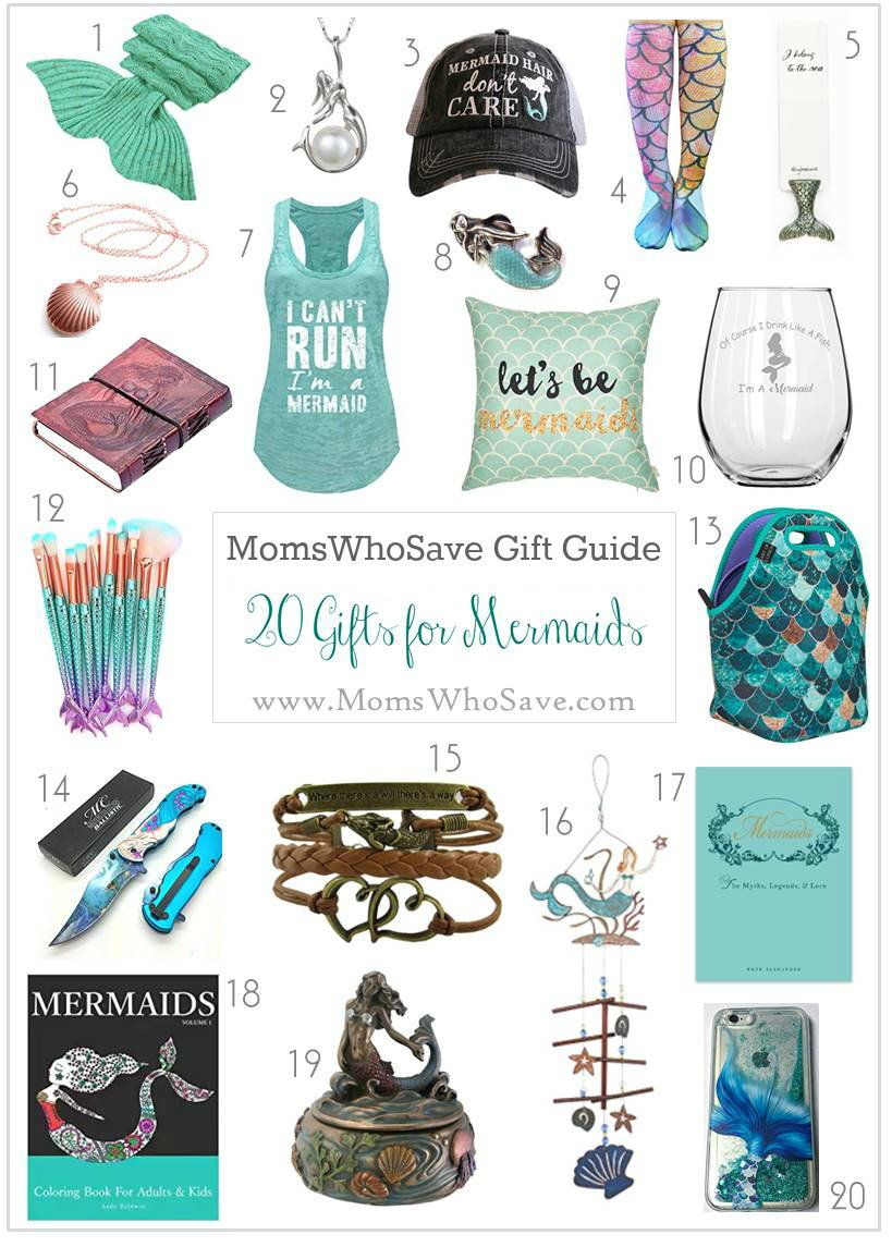 RT @MomsWhoSave: 20 Mermaid Gifts She'll Love!     #gifts #mermaids #giftguide