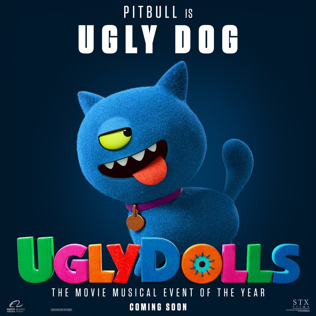 Think #UglyDog doesn't stand a chance? Think again! Get ready for @UglyDolls in theaters May 3! https://t.co/xyXryruT9r