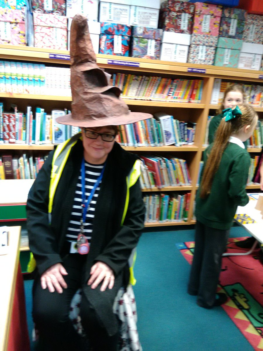 test Twitter Media - Today the fab club were enjoying more Harry Potter Wizardry in the library https://t.co/uorx9Ne4GC
