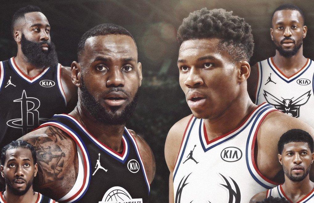 RT @thisis50: LeBron James and Giannis Antetokounmpo live-pick their All-Star Gamelineups https://t.co/C9wtpzZHjA https://t.co/MUEn80dQJR