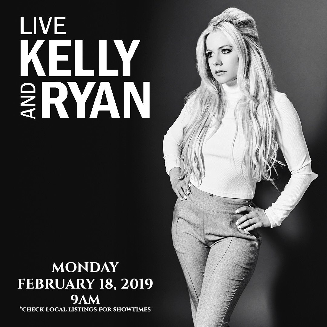 Tune in to @ABCNetwork on Monday Feb 18 at 9 am ET/PT! I'll be performing at @LiveKellyRyan! https://t.co/i8sCSGxm6S