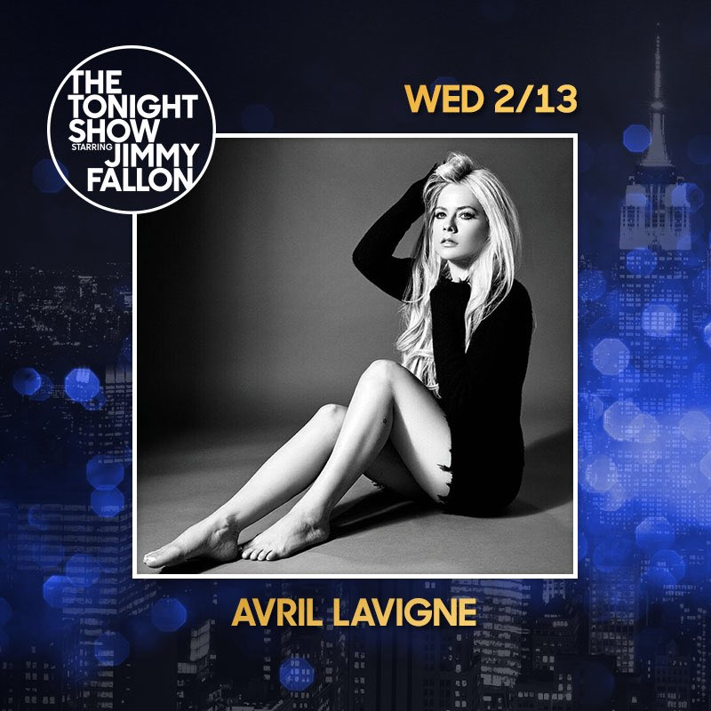 Tune in to @NBC next Wednesday Feb 13 at 11:35 pm ET/PT, I'll be performing at @FallonTonight. https://t.co/EqkCwm2RHA