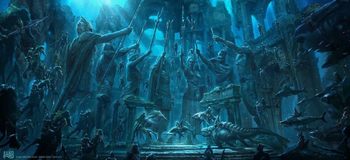 test ツイッターメディア - 🦈#アクアマンへようこそ🐬  海底で栄華を極めているアトランティス✨  脚本家のウィル・ビールは、『#アクアマン』で描かれる海底の世界を「滅びなかったローマ帝国」と表現‼  「現代のテクノロジーと古代の風習を併せ持つ国家です。一度も征服されることなく、地球の果てにひっそりたたずんでいる」 https://t.co/7RV2cV4Cc2