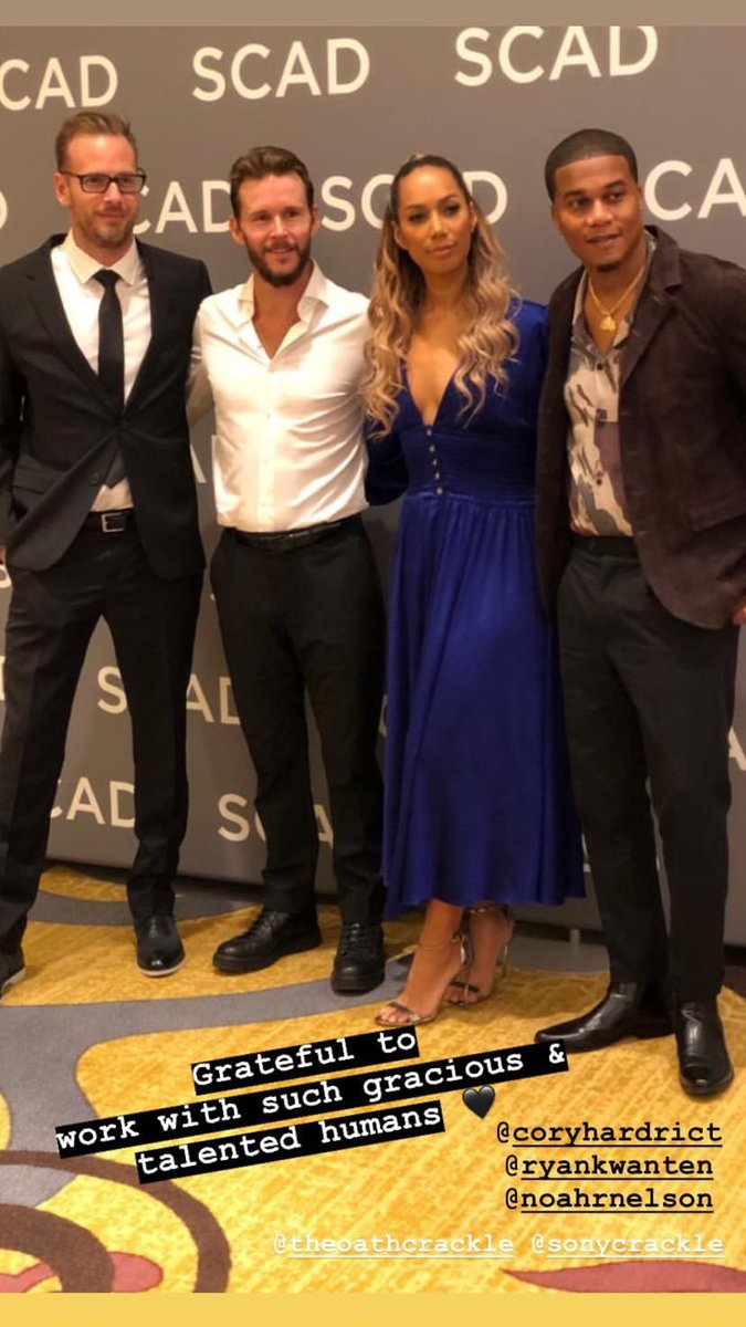 Love this talented bunch @theoathcrackle @SonyCrackle  @coryhardrict #ryankwanten #noahnelson https://t.co/kRQqv9WdOC