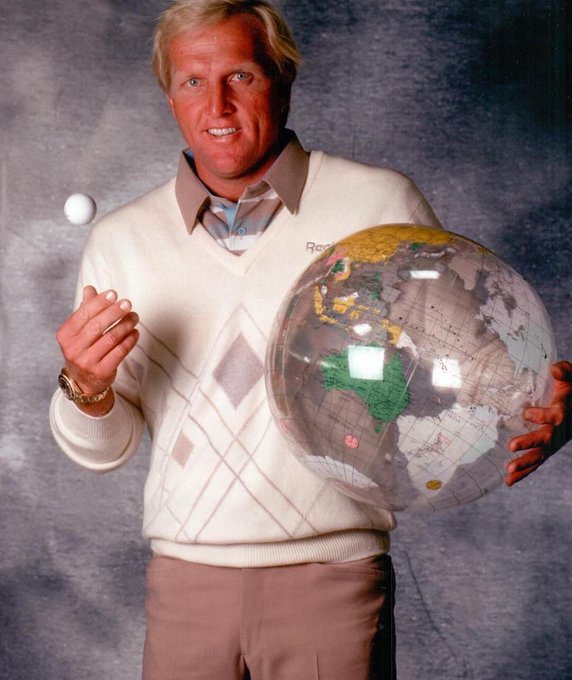 Who else misses Greg Norman at his peak? Happy Birthday,
