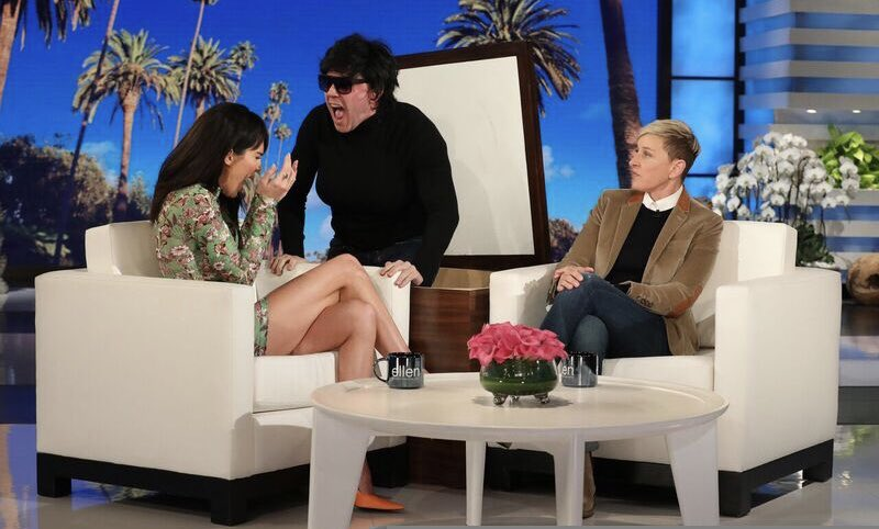 had a great time on @theellenshow ???? @proactiv #ad   Photo Credit: Michael Rozman/Warner Bros https://t.co/YMO9UYlyXD