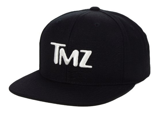 Lookin' SNATCHED in our new TMZ snapbacks ...
