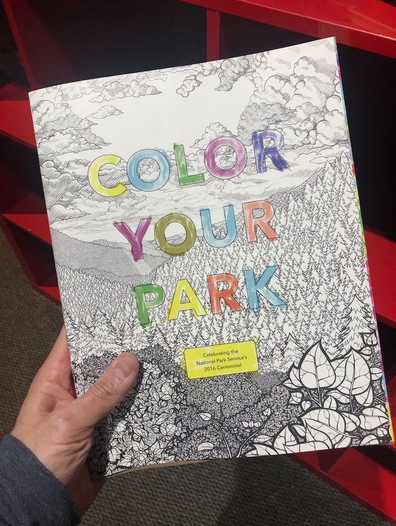 An adult coloring book featuring all your favorite National Parks — get copies here: https://t.co/zrwEuOycvA https://t.co/agZvjhUTlp
